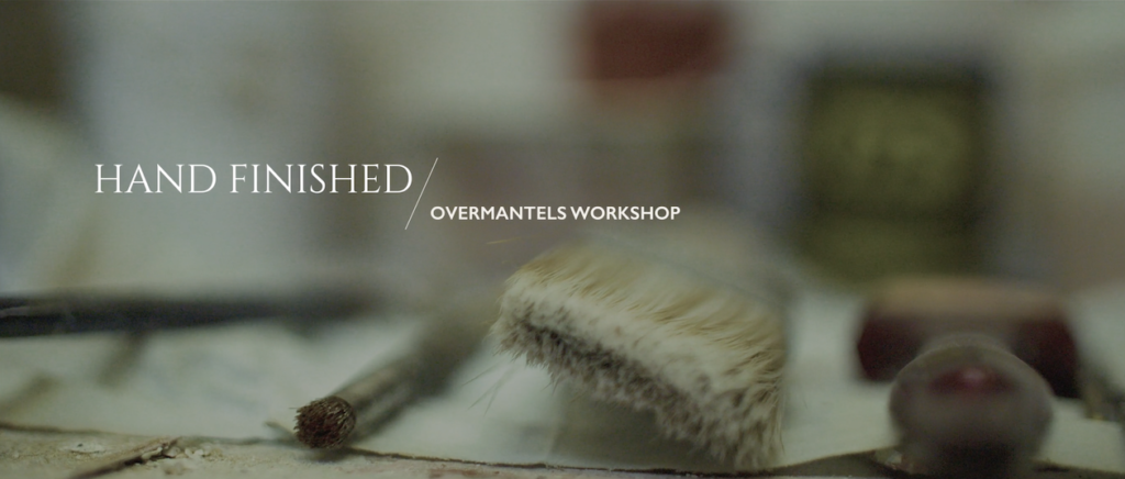 Still from Overmantels Mirrors product film