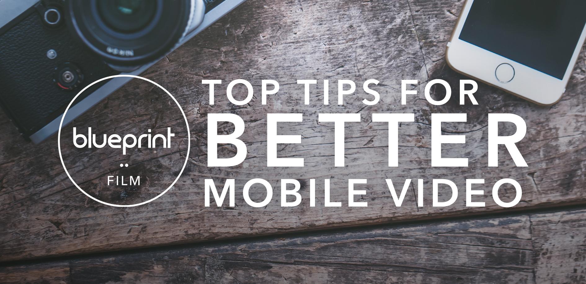 Mobile video tips blog