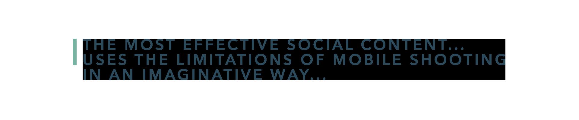 effective social content
