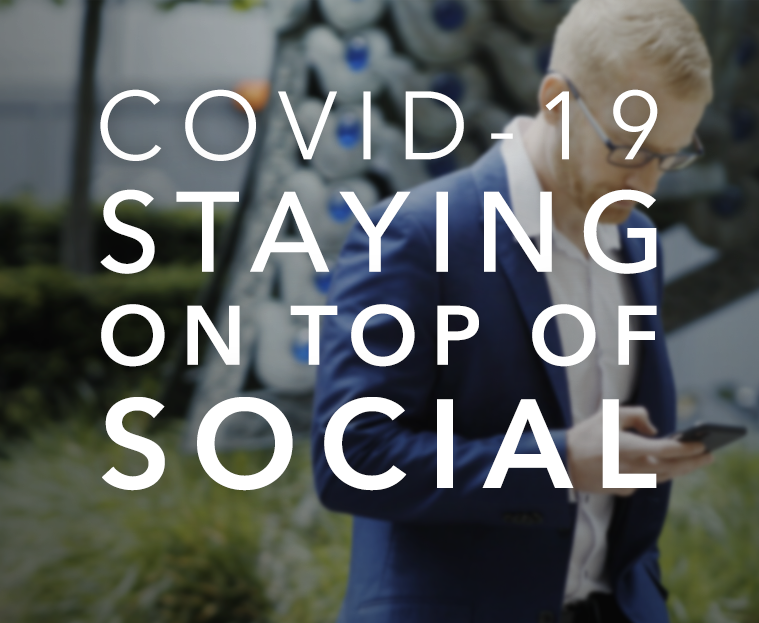 COVID-19 staying on top of social media blog