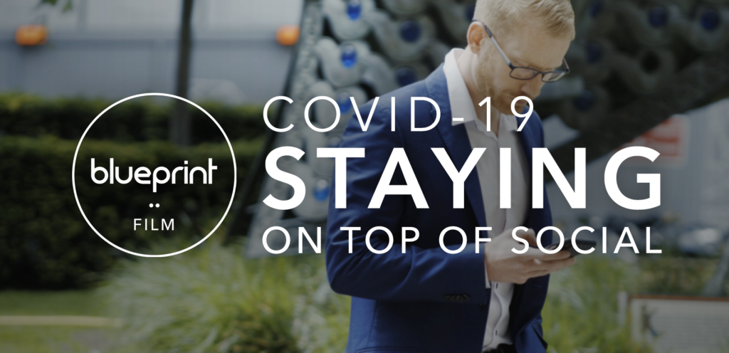 COVID-19 Staying on top of social media