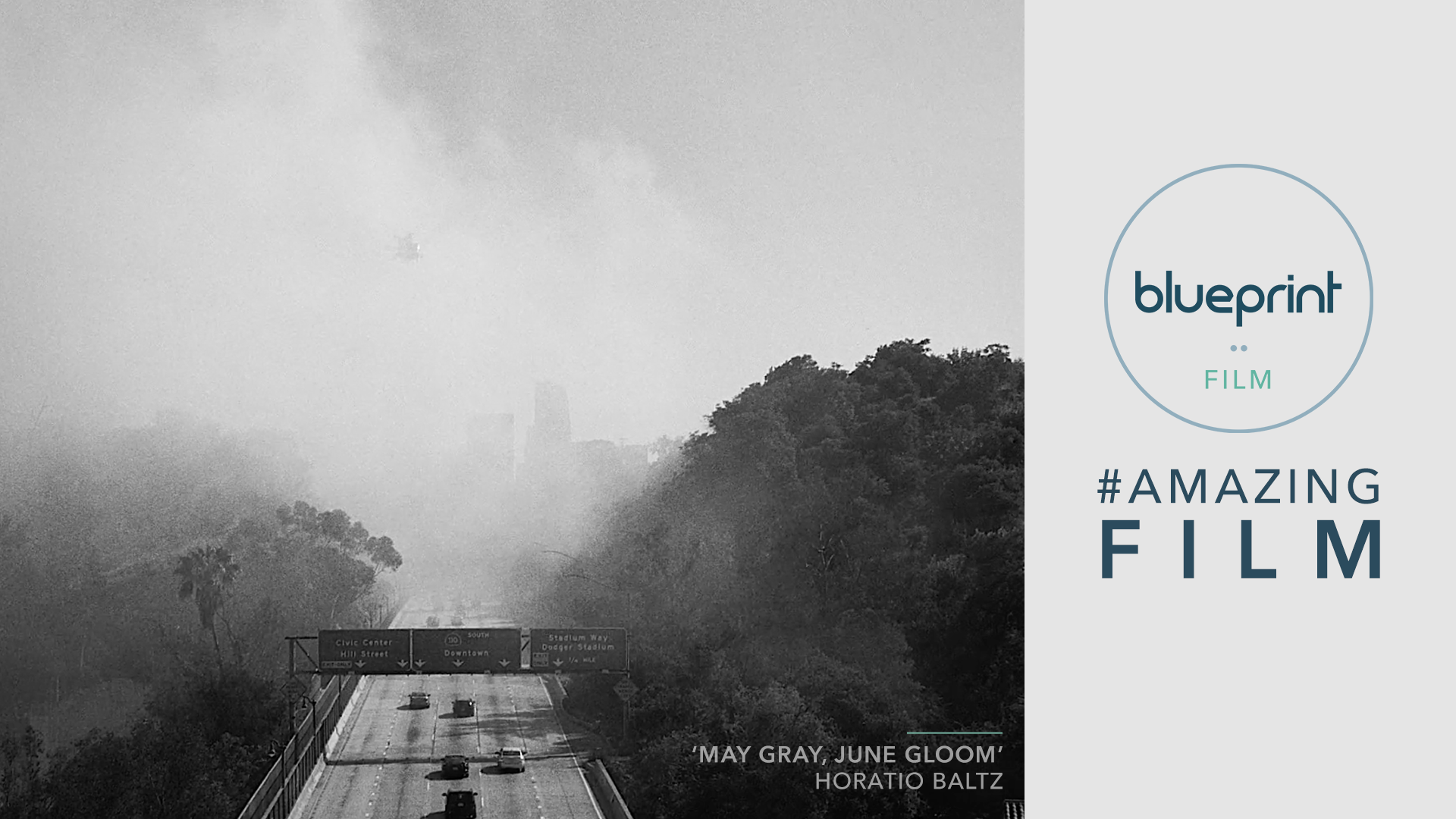 Still from May Gray, June Gloom - LA from above