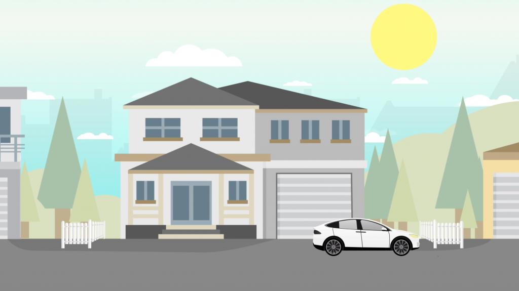 JPS Energy Animated video still of house