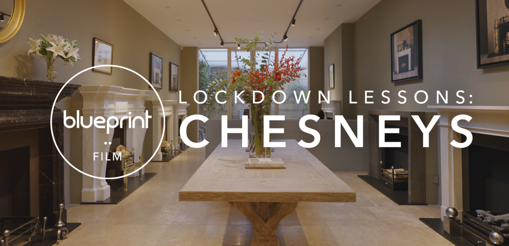 """Text reading """"Lockdown Lessons: Chesneys"""""""