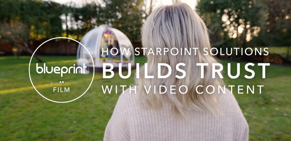 """Header image featuring still from Starpoint Solutions film with text reading """"How Starpoint Solutions Builds Trust With Video Content"""""""