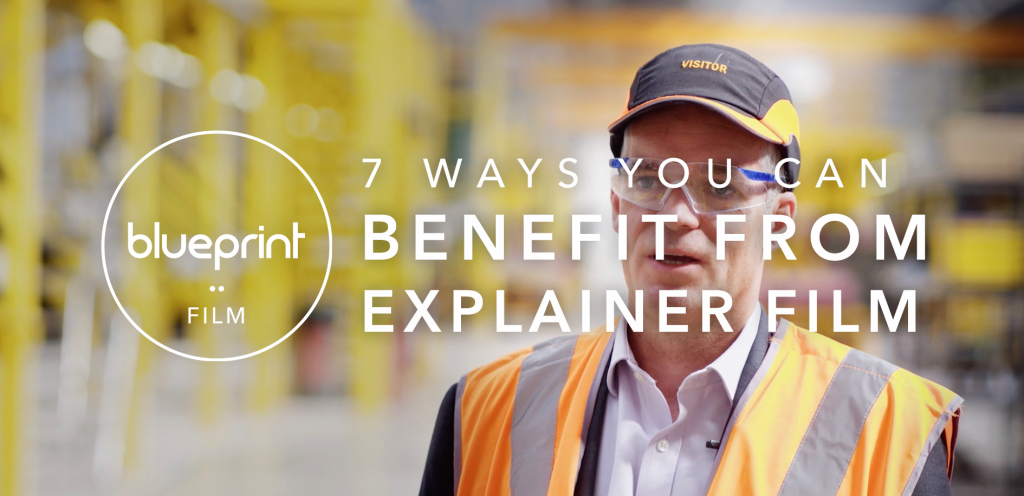 """Header image featuring text that reads """"7 Ways You Can Benefit From Explainer Video"""""""