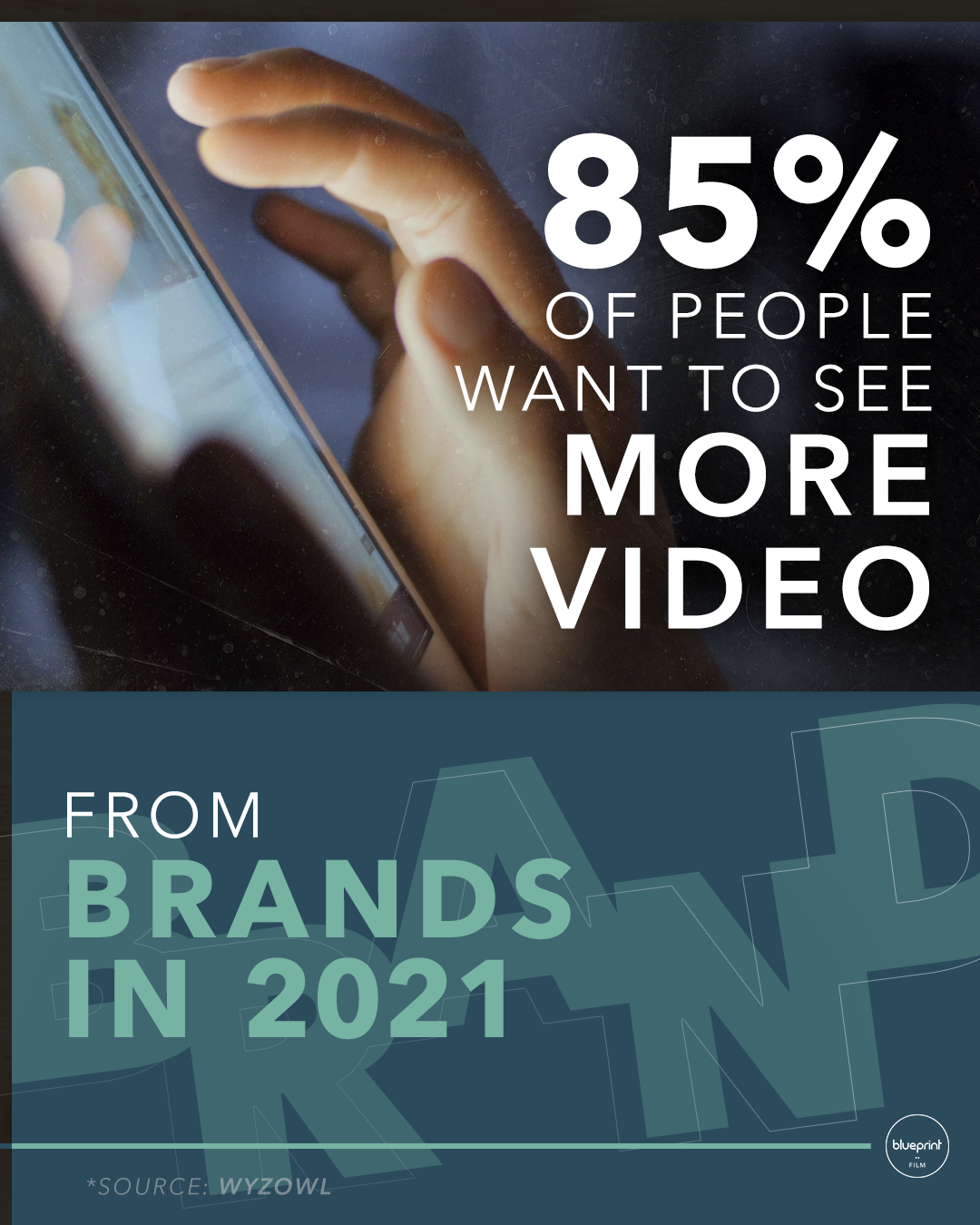 IG Why Video stats infographic repurposing video content