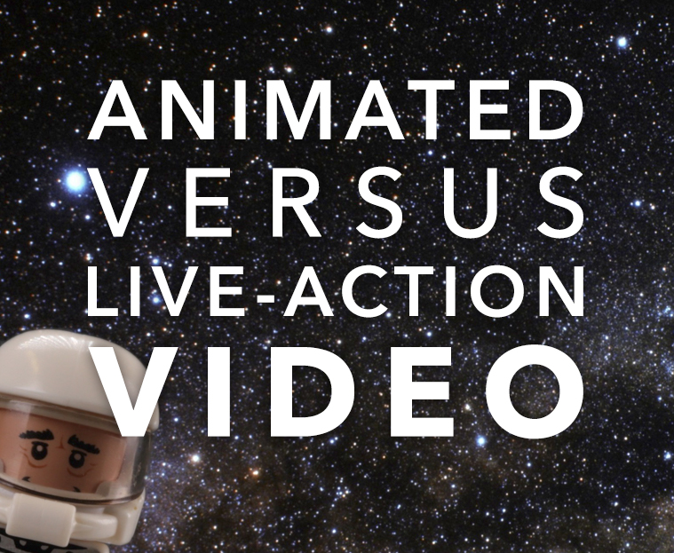 animated vs live-action video