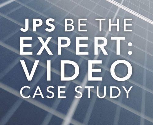 JPS be the expert video case study