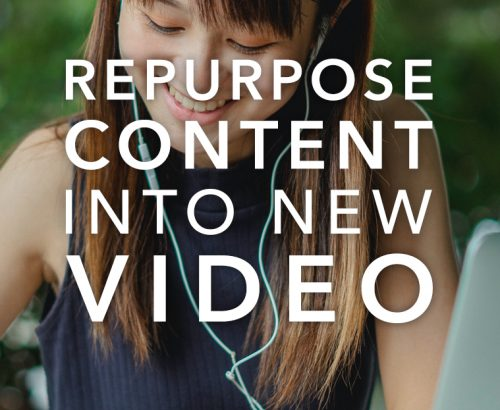 repurpose content into new videos